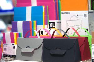 BUNTBOXEN als Handtaschen