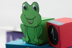 BUNTBOX mit selbst gestalteten Figuren