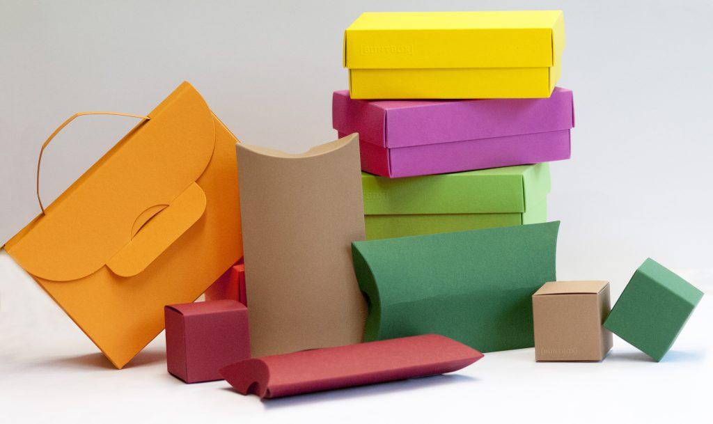 Die bunten Schachteln in allen Varianten