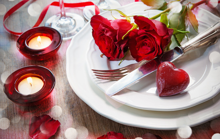 Tipps fürs romantische Candle Light Dinner