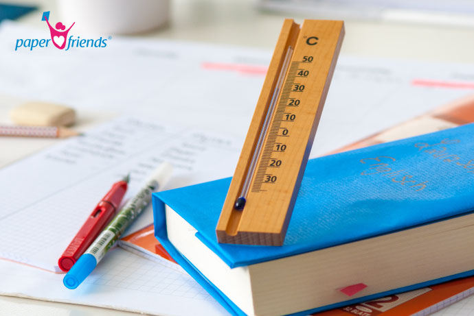 Lernen trotz Hitze: Konzentration lässt nach