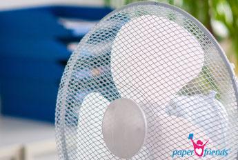 Lernen trotz Hitze: Auf Kühlung achten