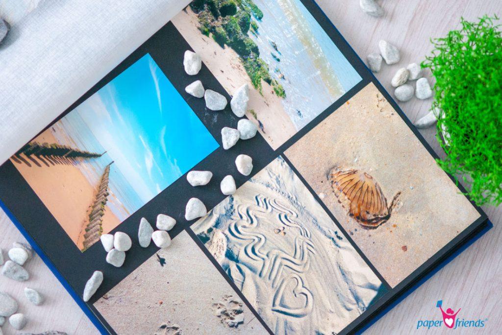 Fotoalbum nach dem Urlaub