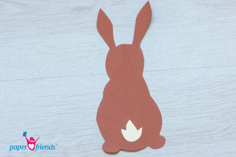 Einen Osterhasen Aus Tonpapier Basteln Paper Friends Blog